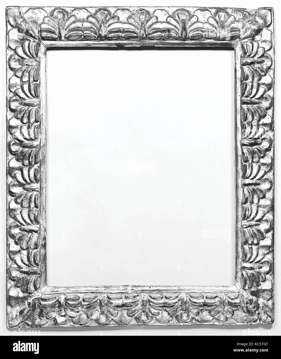 Marco de imagen, finales del siglo XVII, tallada y Álamo Dorado, en ...