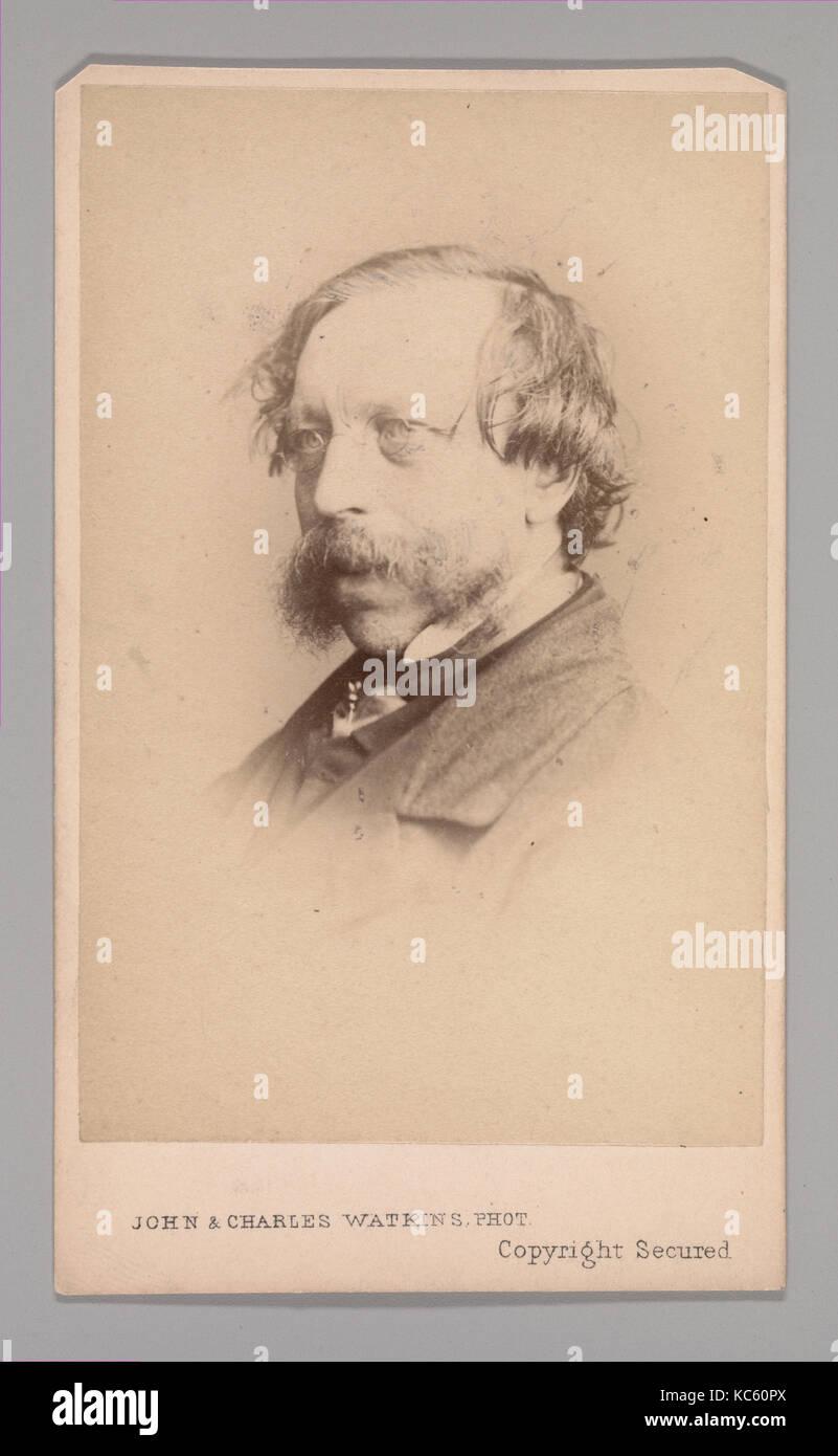 Frederick William Fairholt, 1860, albúmina imprimir plata, aprox. 10,2 x 6,3 cm (4 x 2 1/2 in.), Fotografías Imagen De Stock