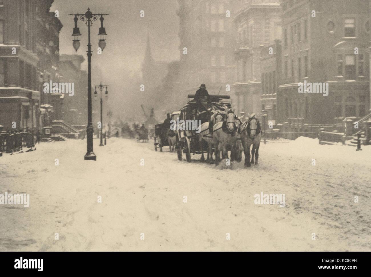 Fotografías pictóricas. Un registro fotográfico del Salón de 1897. En diecisiete placas reproducida en huecograbado, Foto de stock