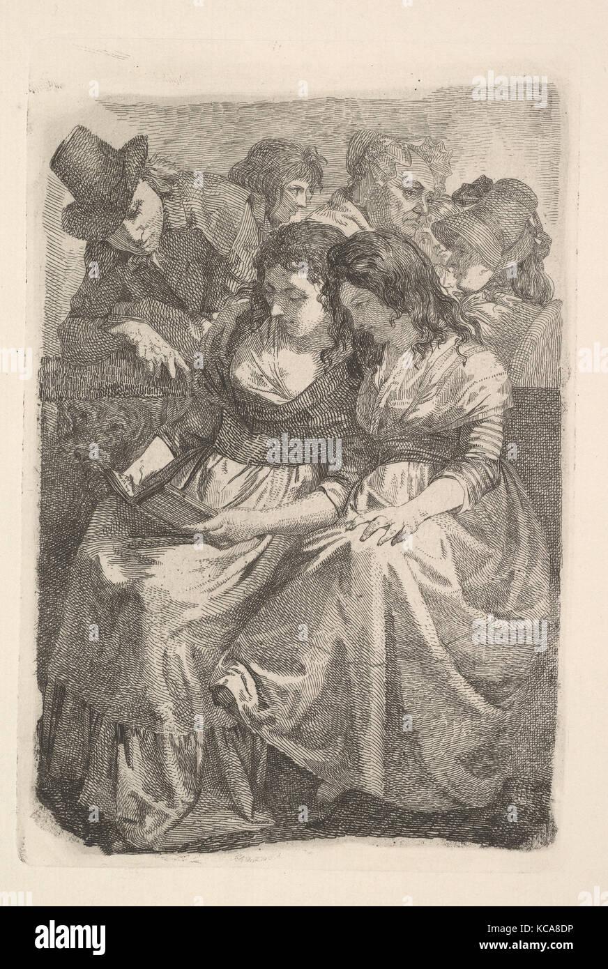 Schadow y su familia, Johann Gottfried Schadow, 1925 Foto de stock