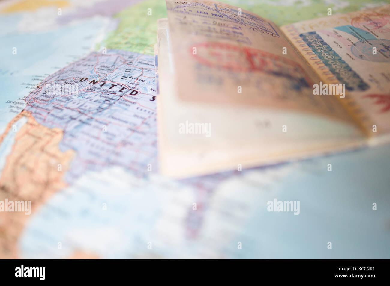 World Passport Imágenes De Stock & World Passport Fotos De Stock ...