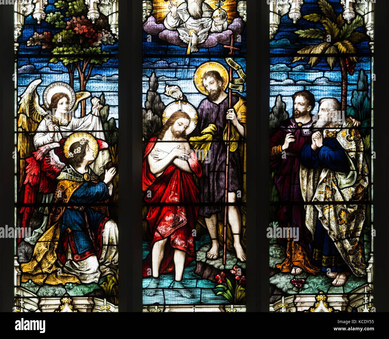Baptism By John The Baptist Imágenes De Stock & Baptism By John The ...