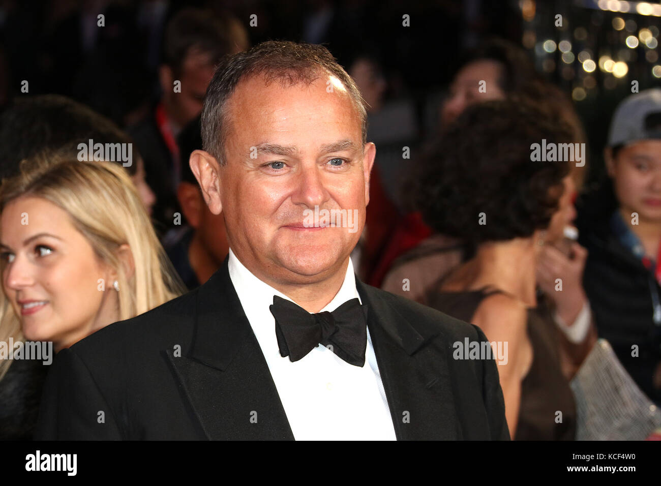 Londres, Reino Unido. 4 Oct, 2017. Hugh Bonneville, respirar - BFI LFF Apertura de la Noche de Gala, Leicester Square, Foto de stock