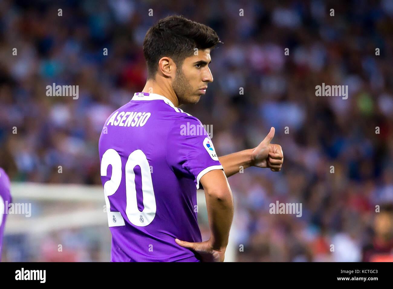 Barcelona - sep 18: marco asensio juega en la liga partido entre el ...
