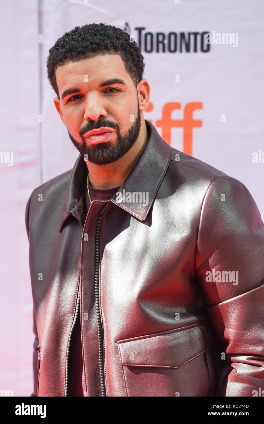 """42ª edición del festival internacional de cine de Toronto - """"el efecto carter' - Premiere con: Drake donde: Toronto, Foto de stock"""