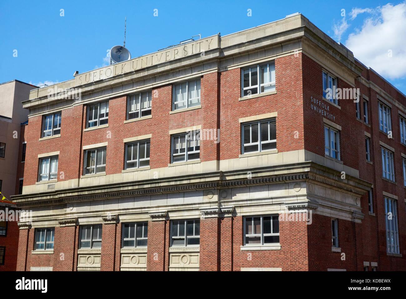 Suffolk University, Boston, Massachusetts, EE.UU. Imagen De Stock