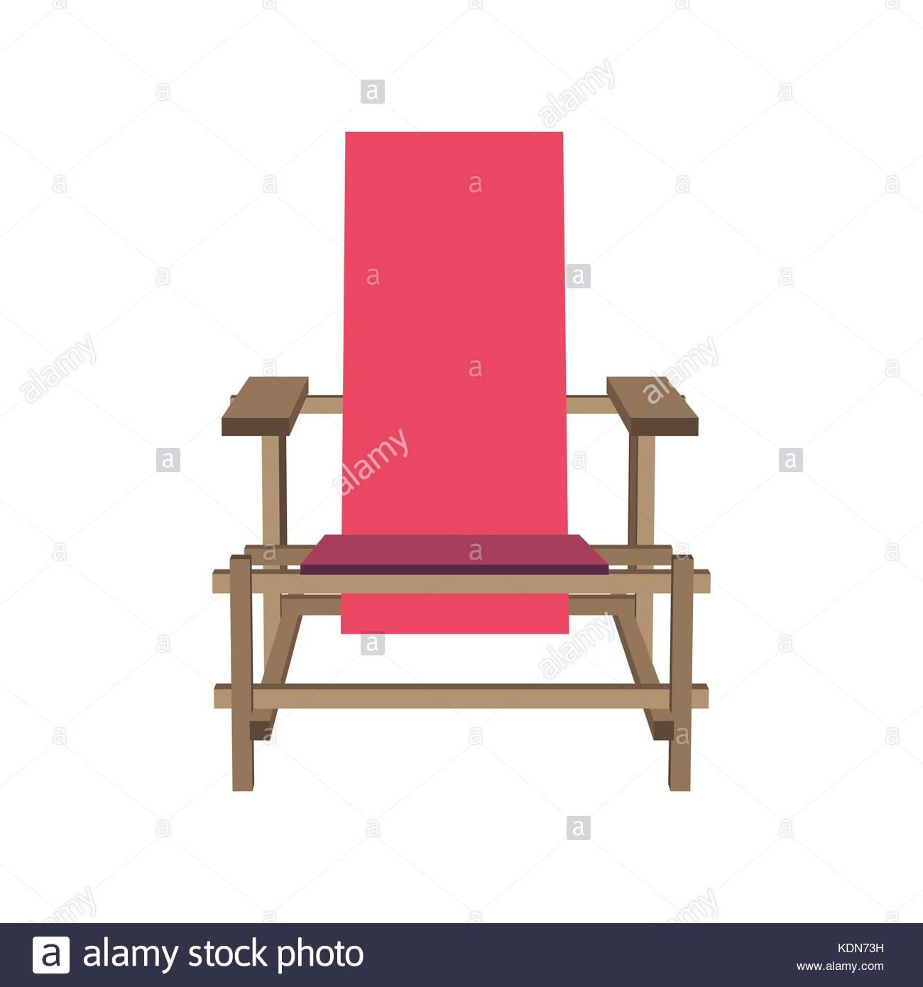 Muebles Silla Rosa Ilustraci N Vectorial De Dibujos Animados De  # Muebles Dibujos Animados