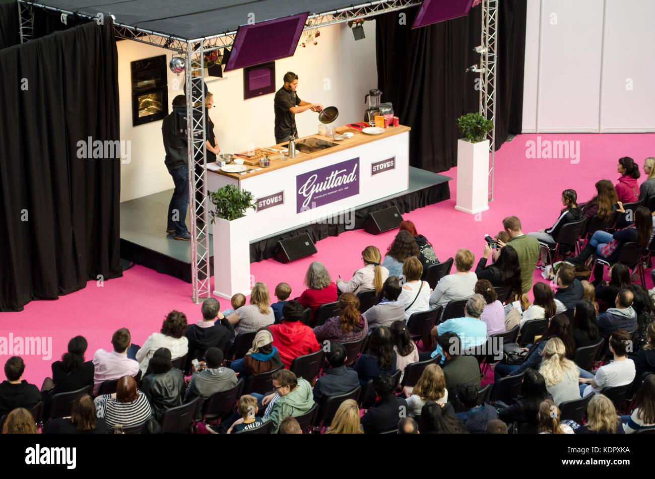 Aneesh popat desde el chocolatero demostración de cocina en el ...