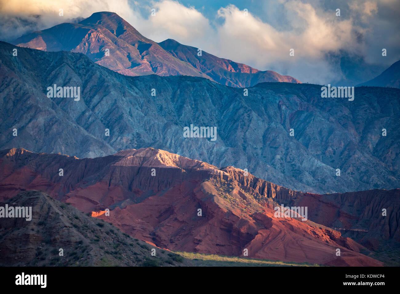 La Quebrada de la caracolas, Valles Calchaquíes, Provincia de Salta, Argentina Imagen De Stock