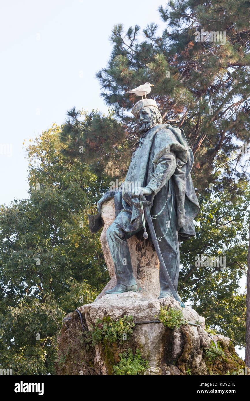 Giuseppe garibaldi estatua jardines p blicos castello for Jardines venecia
