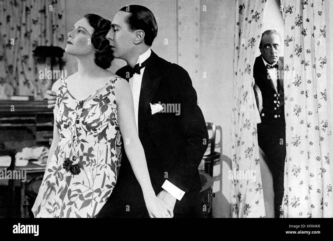 'Placer' Crucero por Austen Allen, con Madeleine Carroll (26 de febrero de 1906 - 2 de octubre de 1987), Reginald Foto de stock