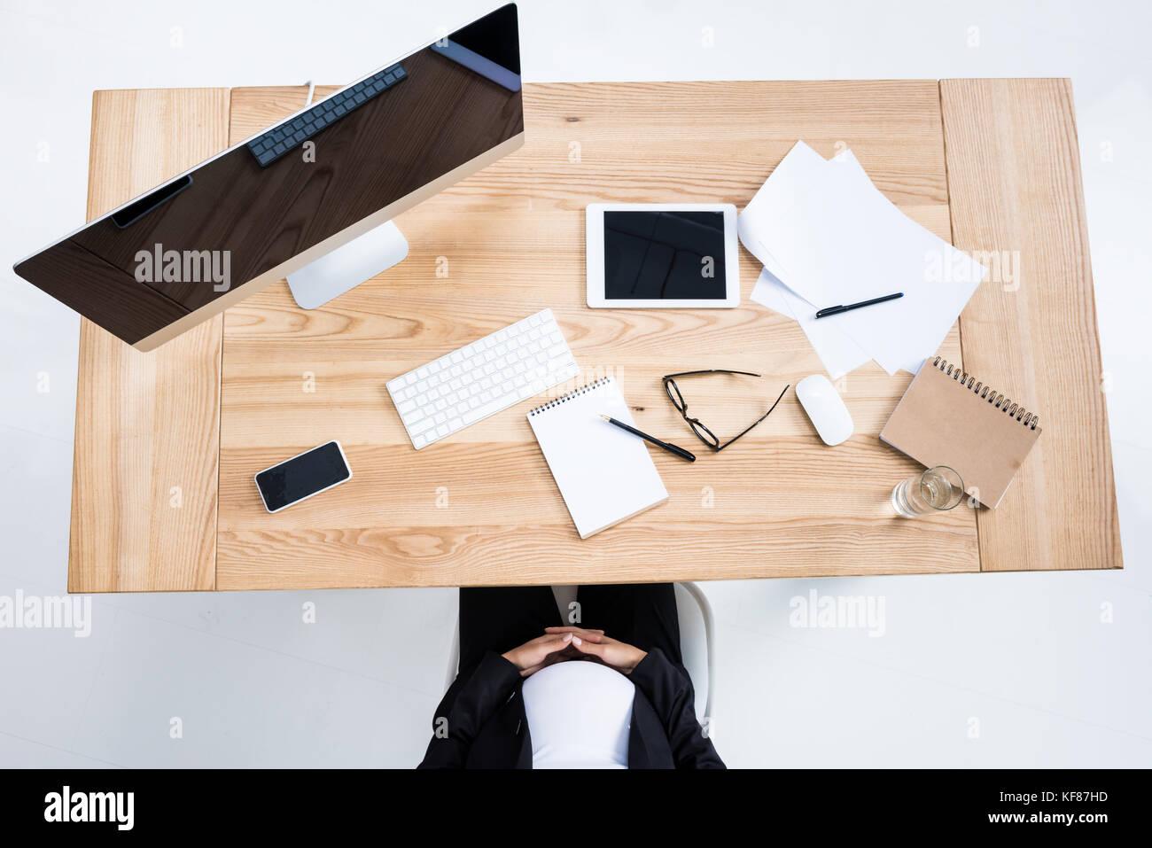 lugar de trabajo Foto de stock