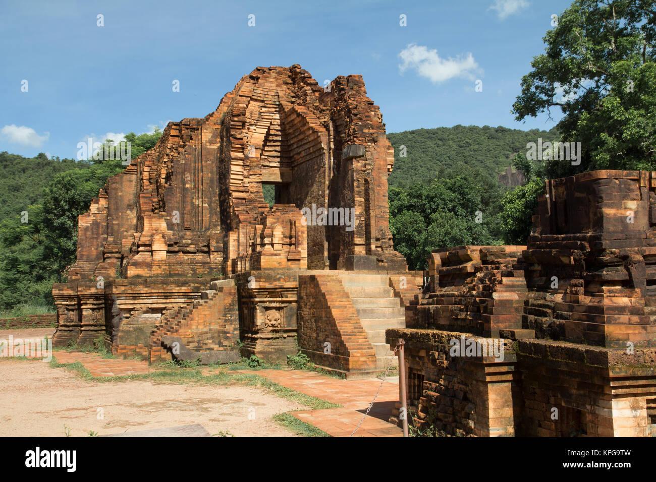 Las antiguas ruinas de la civilización perdida Imagen De Stock