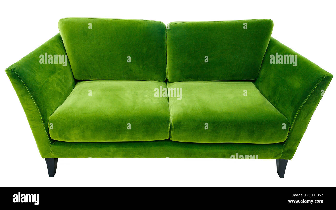 Green Imágenes Fotos Sofa Stockamp; Velvet De QdChxsrt