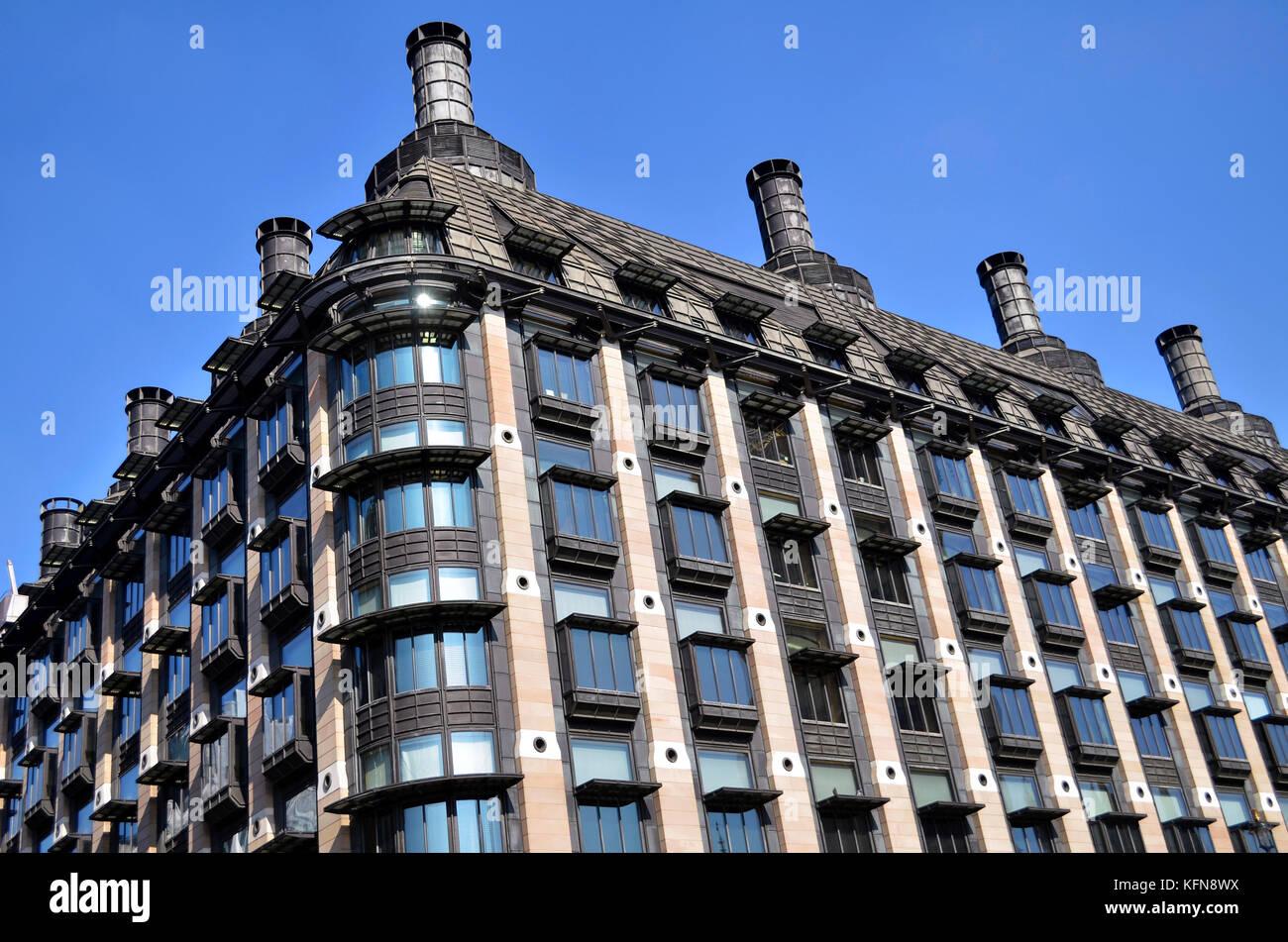 Portcullis House, Westminster, Londres, Reino Unido. Foto de stock