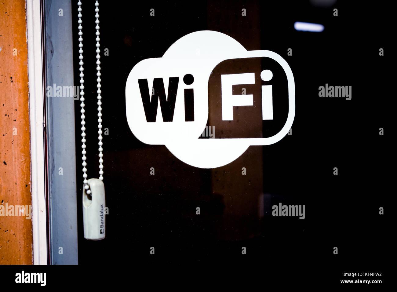 Señal wifi Imagen De Stock