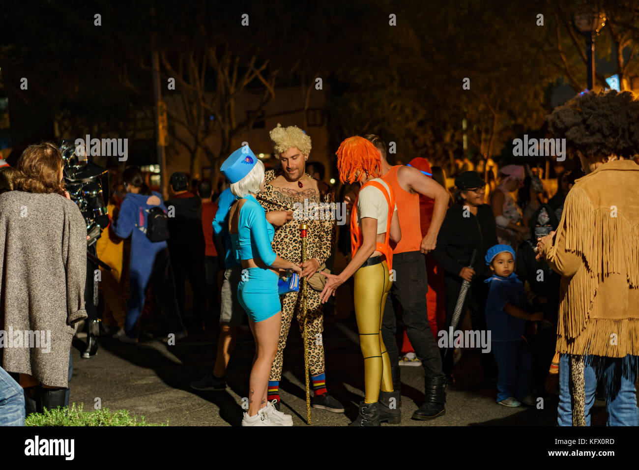 Los Angeles, Estados Unidos. 31 oct, 2017. Evento Especial - West Hollywood halloween carnaval en 31 oct, 2017 en Imagen De Stock
