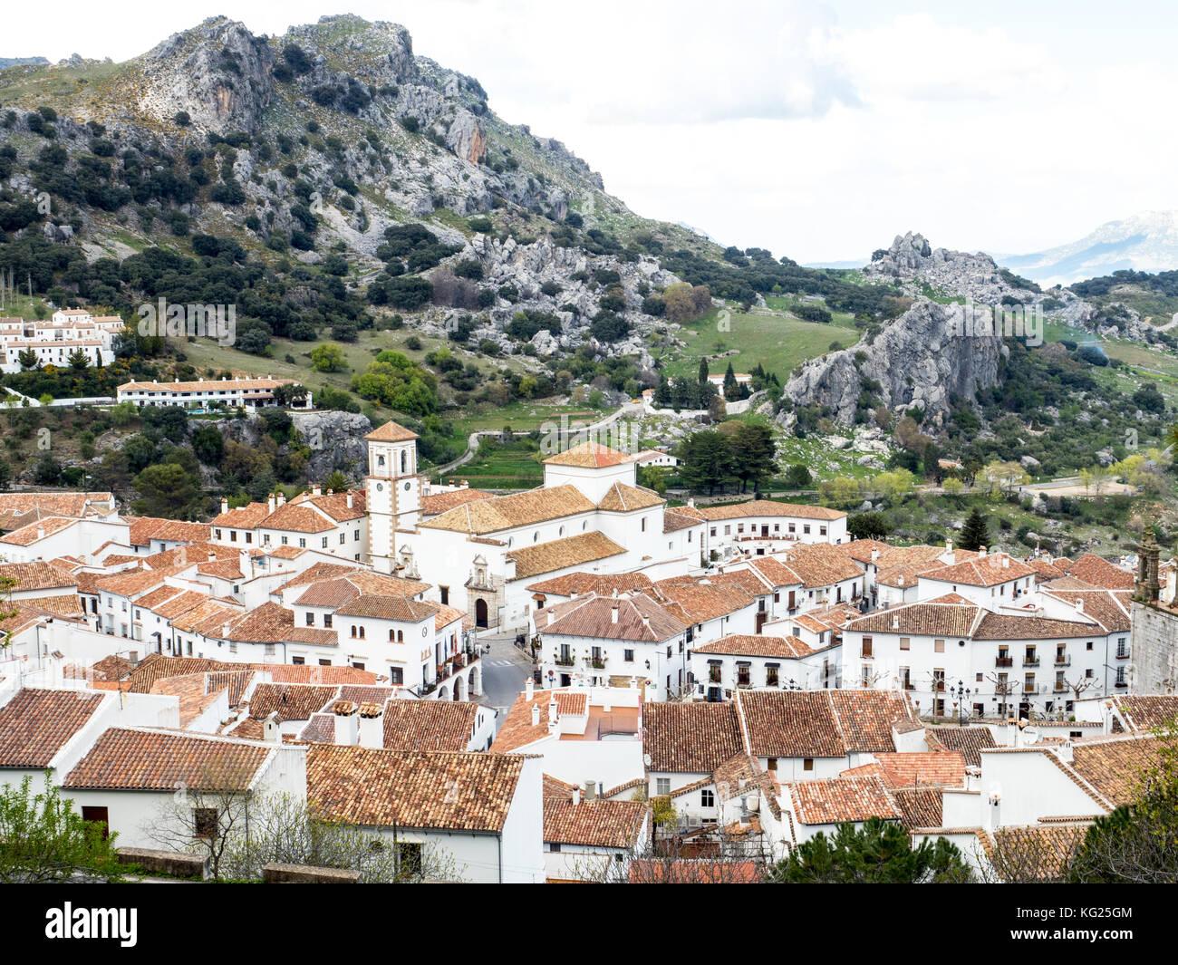 Grazalema, Andalucia, España, Europa Imagen De Stock