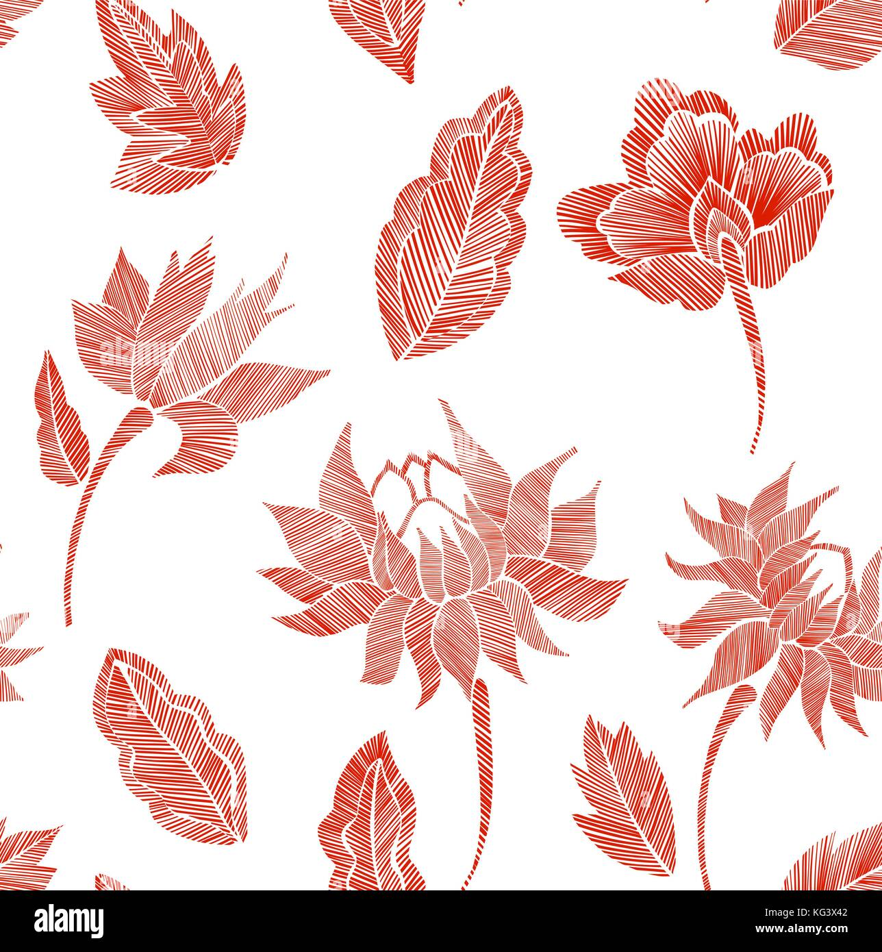 Embroidery Vector Vectors Imágenes De Stock & Embroidery Vector ...