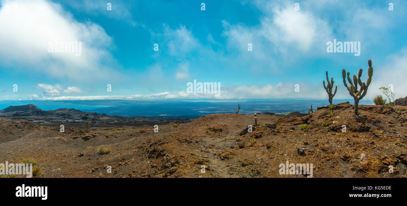 Isla Isabela Galapagos Ecuador Sudamérica viajes sierra negra Imagen De Stock