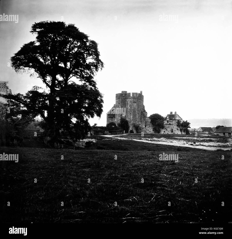 Shropshire imágenes históricas en el Reino Unido, las fotografías de otro siglo. Histórica perdida del escénico Foto de stock