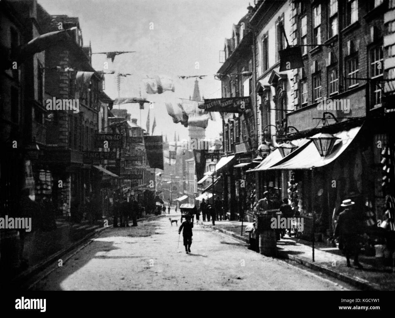 Shropshire imágenes históricas en el Reino Unido, las fotografías de otro siglo. Histórica perdida Imagen De Stock
