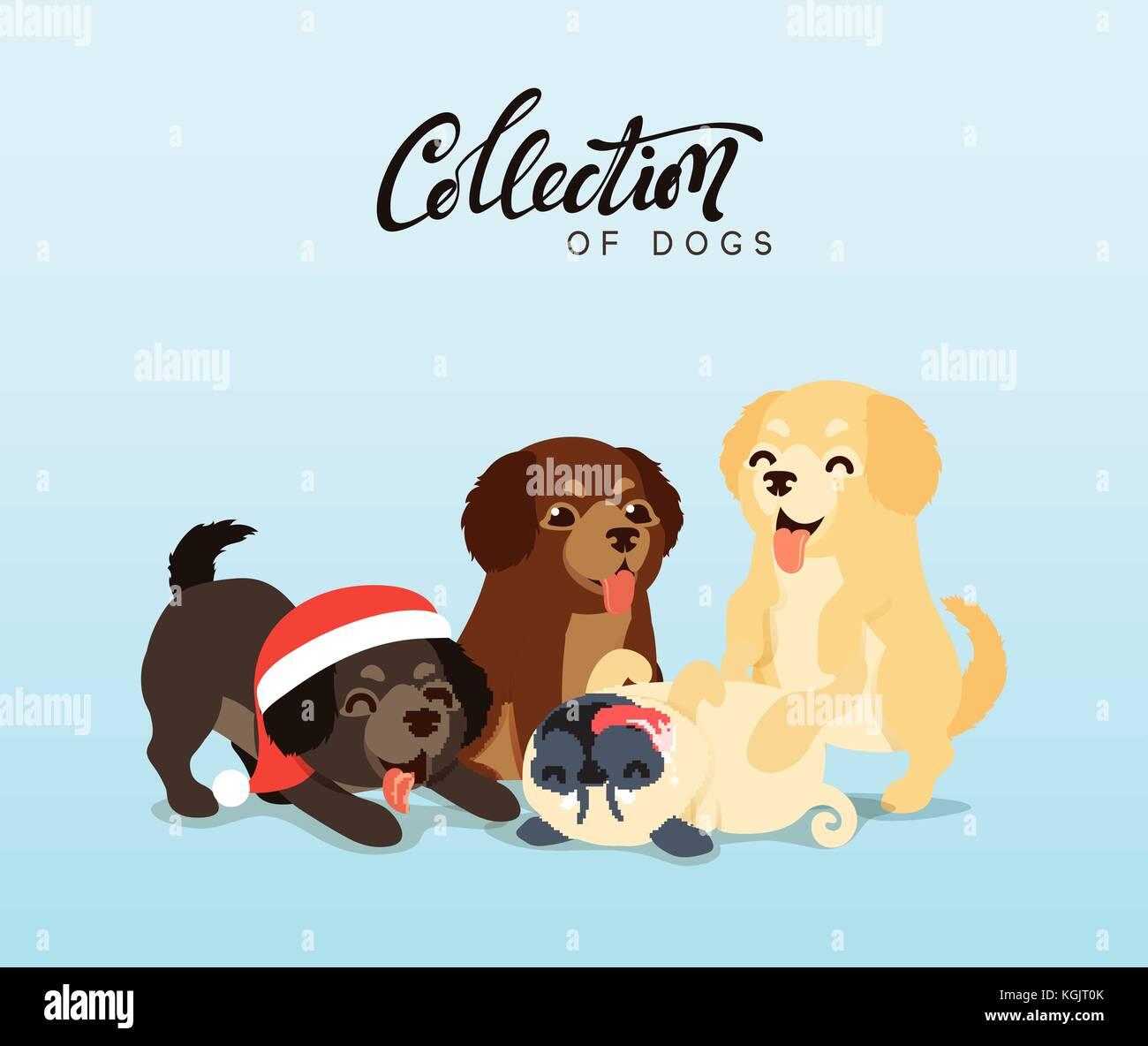 Cartoon Illustration Labrador Retriever Imágenes De Stock Cartoon
