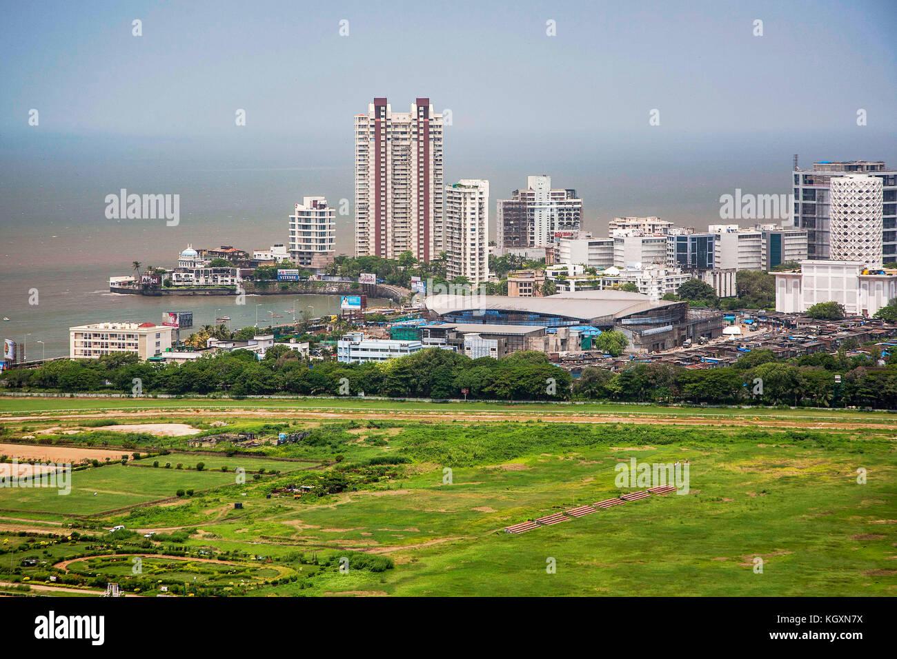 Mahalaxmi racecourse, Bombay, Maharashtra, India, Asia Imagen De Stock