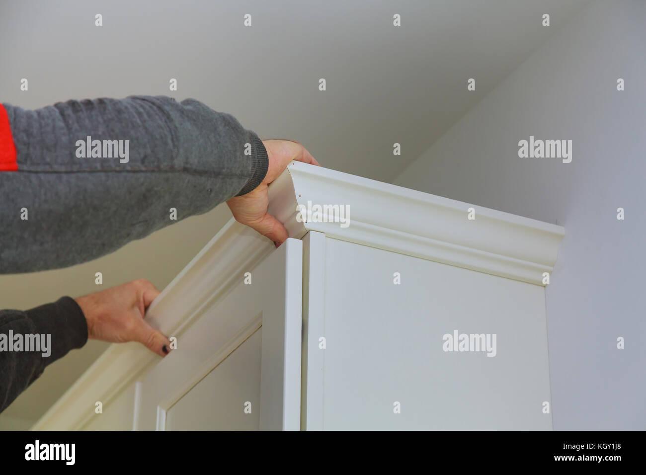 Carpenter Nailing On Wood Framing Imágenes De Stock & Carpenter ...
