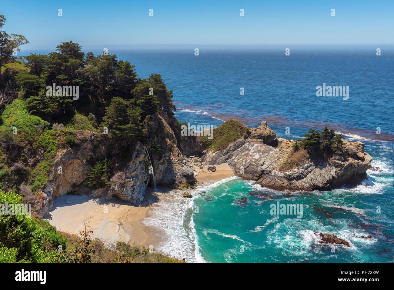 California Beach Imagen De Stock
