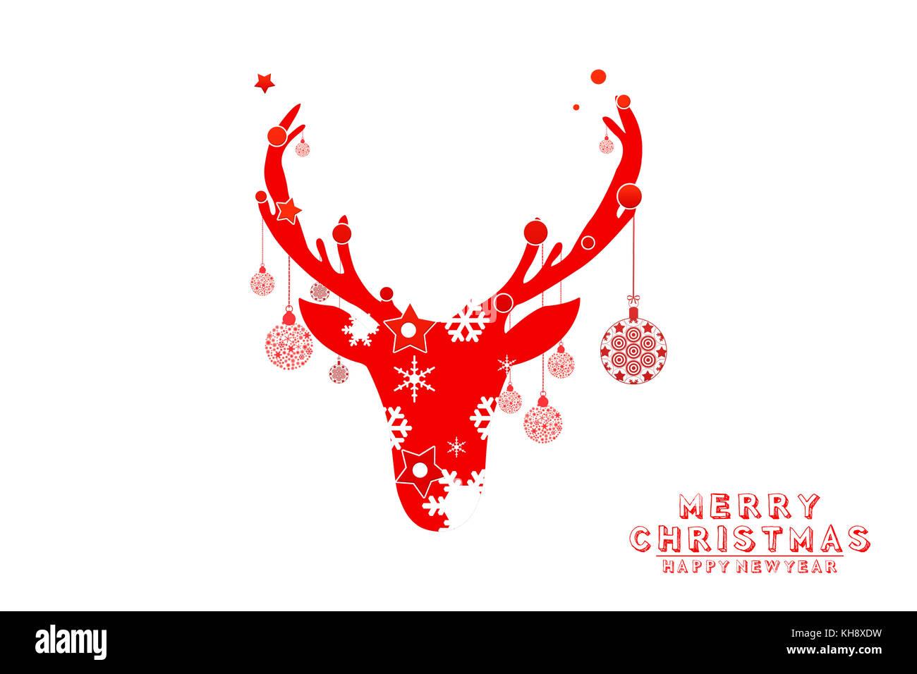 Text Icon Merry Christmas Design Imágenes De Stock & Text Icon Merry ...