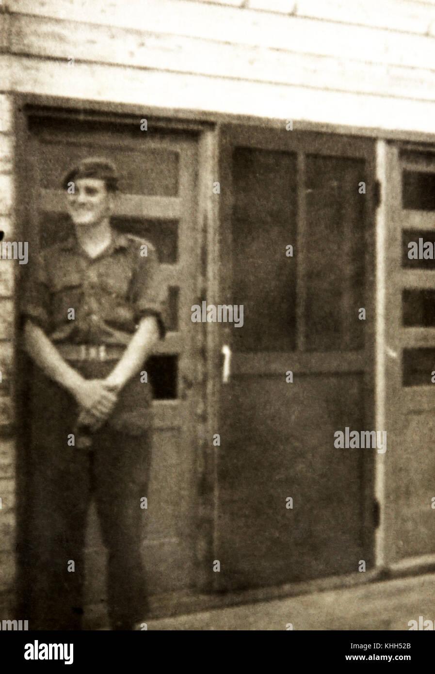 Jeff Krotz archivo personal de la familia de retratos tomado sobre el siglo pasado Foto de stock