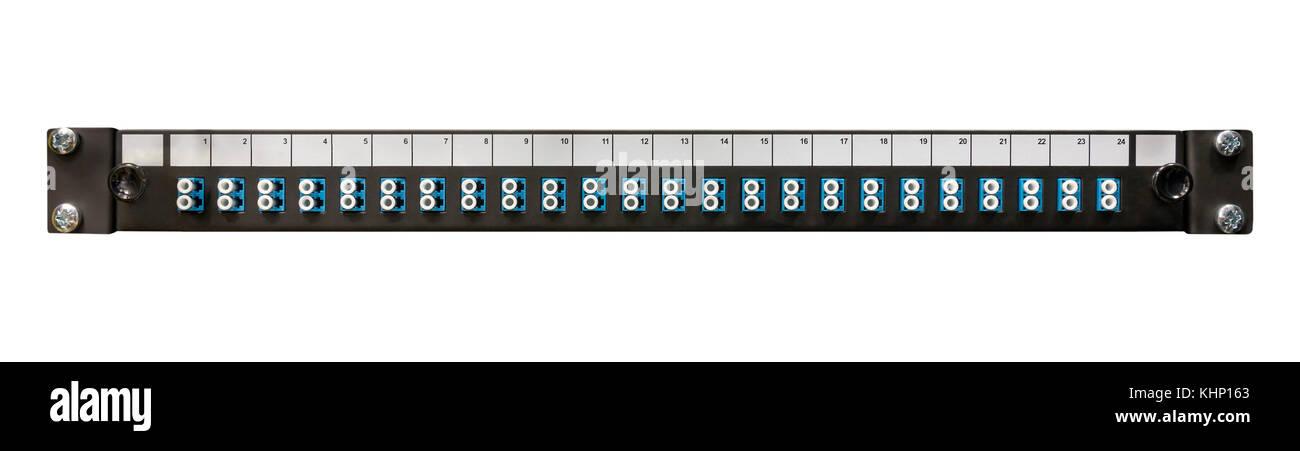Patch panel im genes de stock patch panel fotos de stock - Patch panel de 24 puertos ...