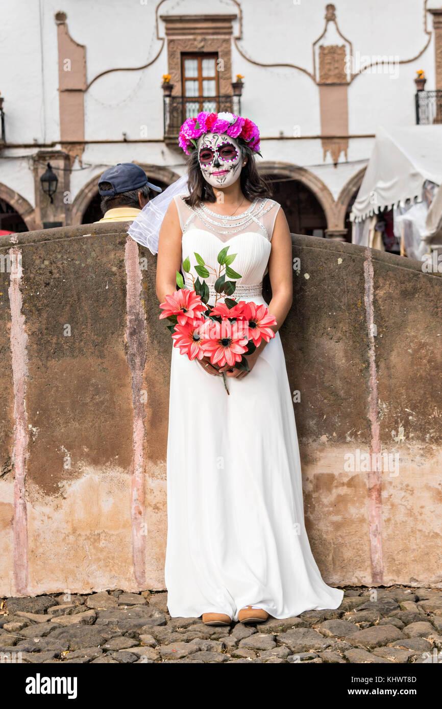 Catrinas vestidas de novia
