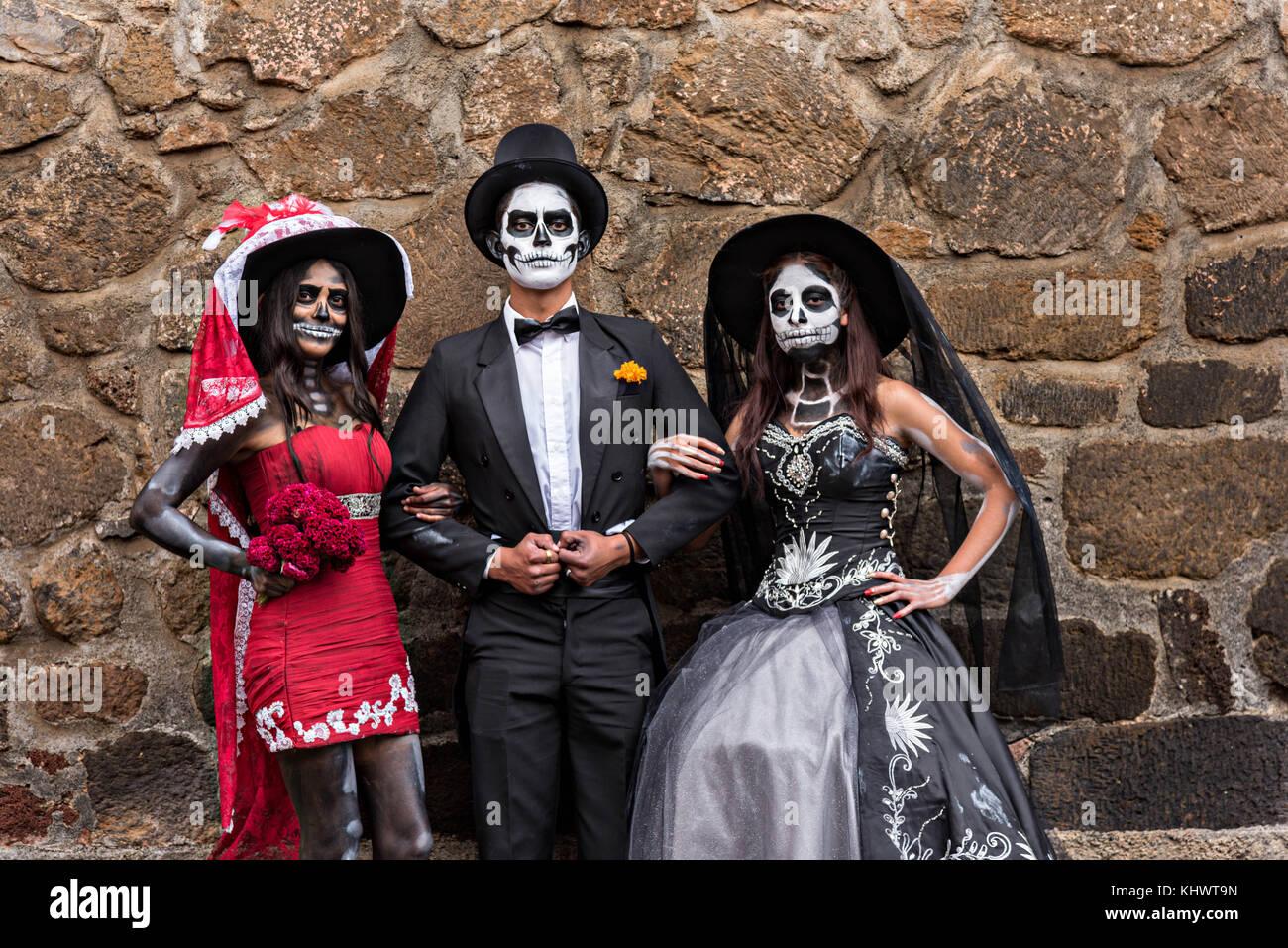 Vestidos dia de muertos
