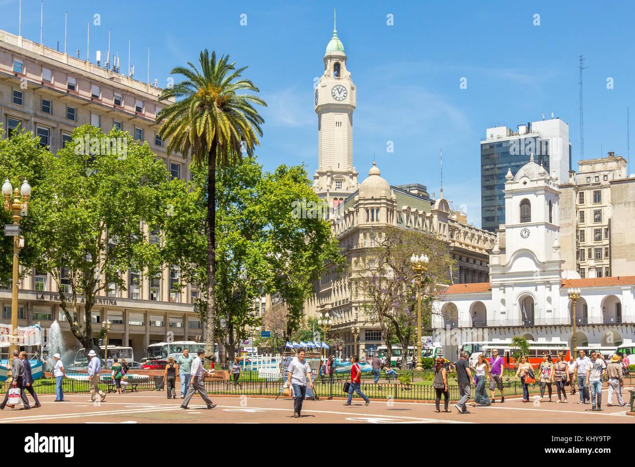 Plaza de Mayo | Buenos Aires | Argentina Imagen De Stock