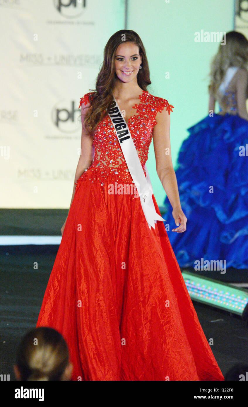 Las Vegas Nevada Eeuu 20 Nov 2017 Miss Universo