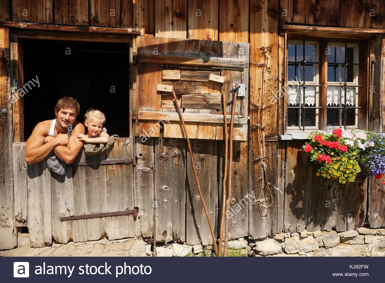 Idilio rural Imagen De Stock