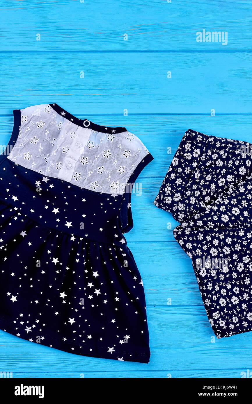 3dad6af1f72 Ropa de verano naturales para bebé niña vestido de algodón con bordado y  polainas para niñas