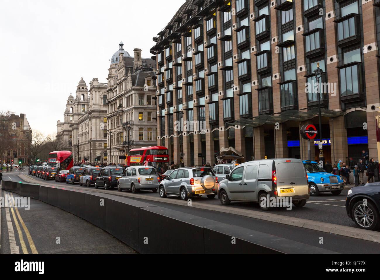 Portcullis House exterior - Westminster - Londres, RU Foto de stock
