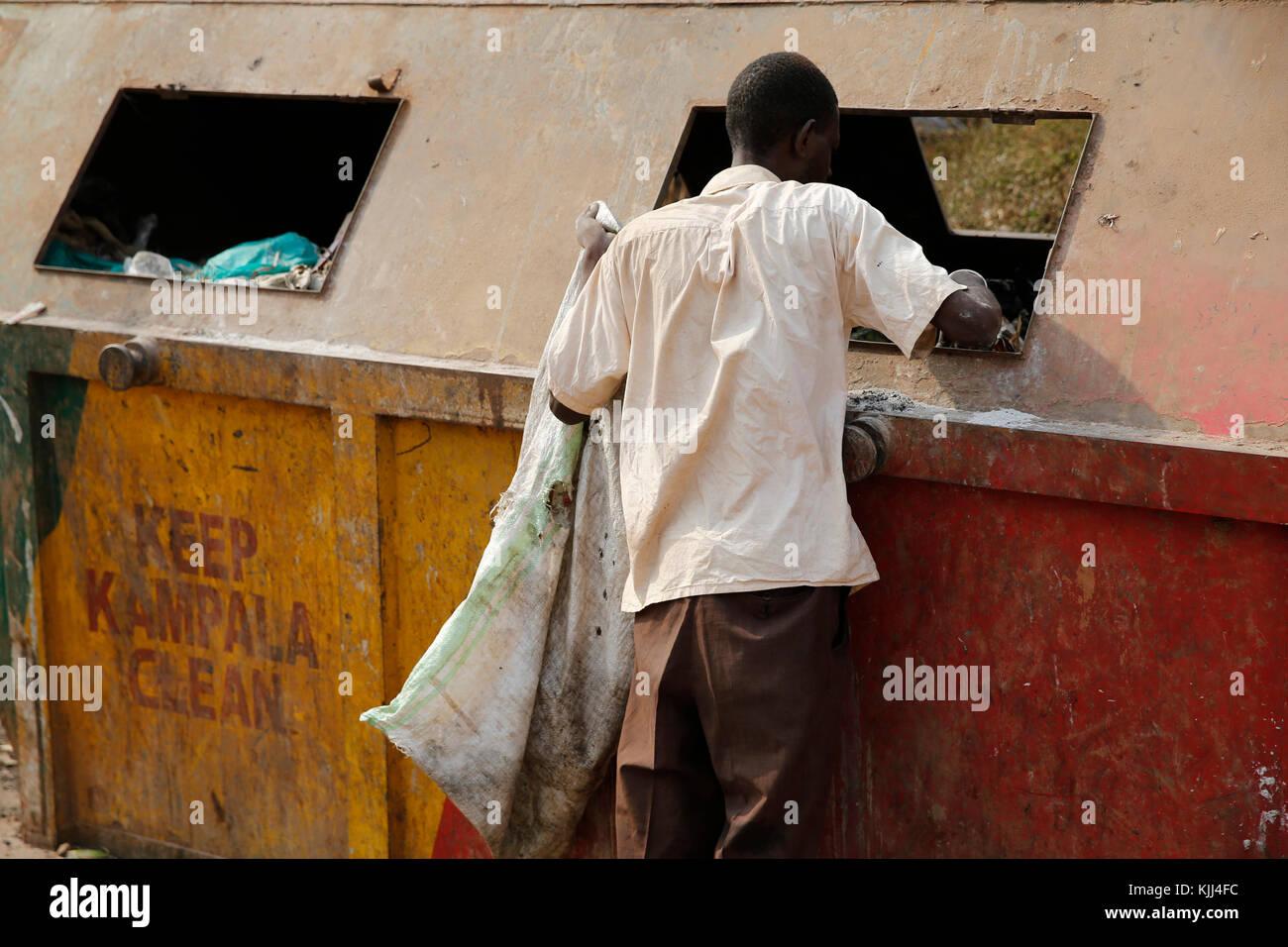 Scavenger. Uganda Imagen De Stock