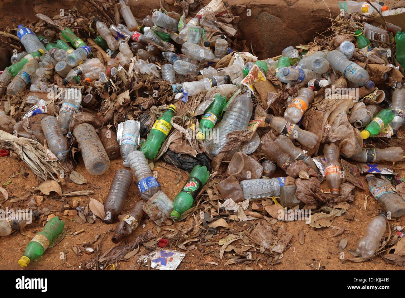 La basura. Uganda Imagen De Stock