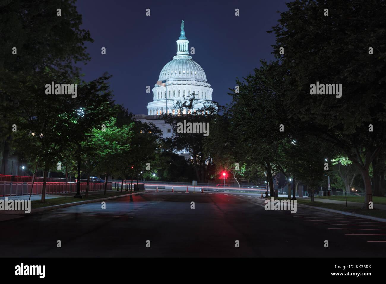 Nosotros del edificio del Capitolio en Washington D.C. Foto de stock