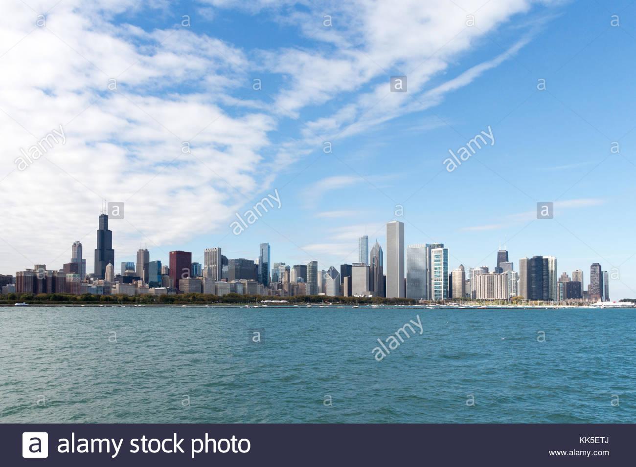 Chicago Landscapes Imágenes De Stock & Chicago Landscapes Fotos De ...