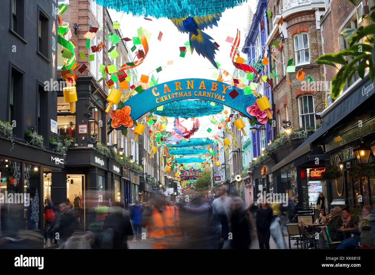 calle de Carnaby Imagen De Stock