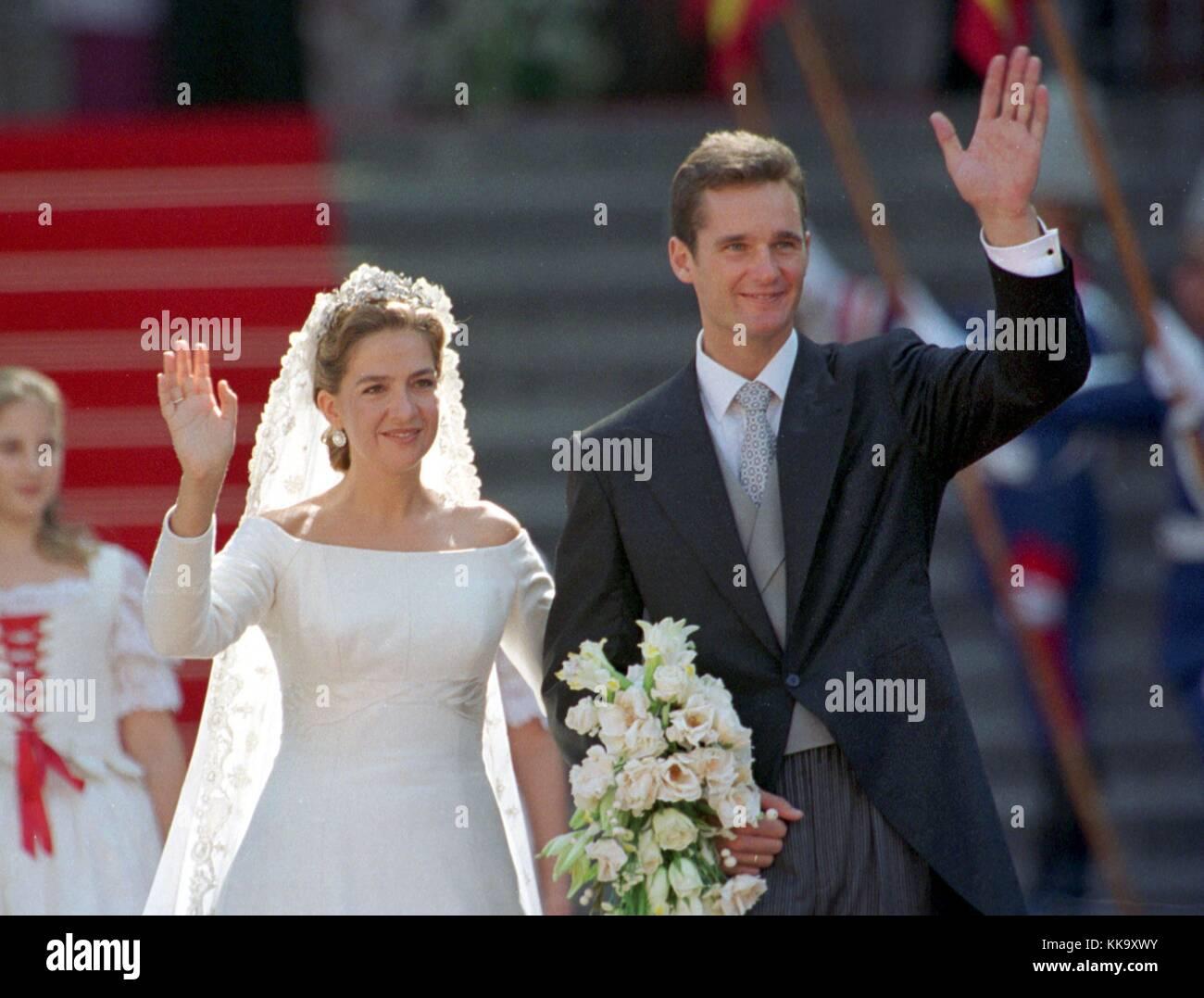 Vestido novia infanta cristina