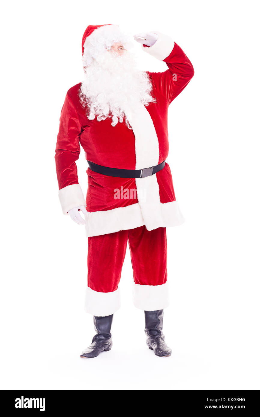 Real Santa Claus Imagen De Stock