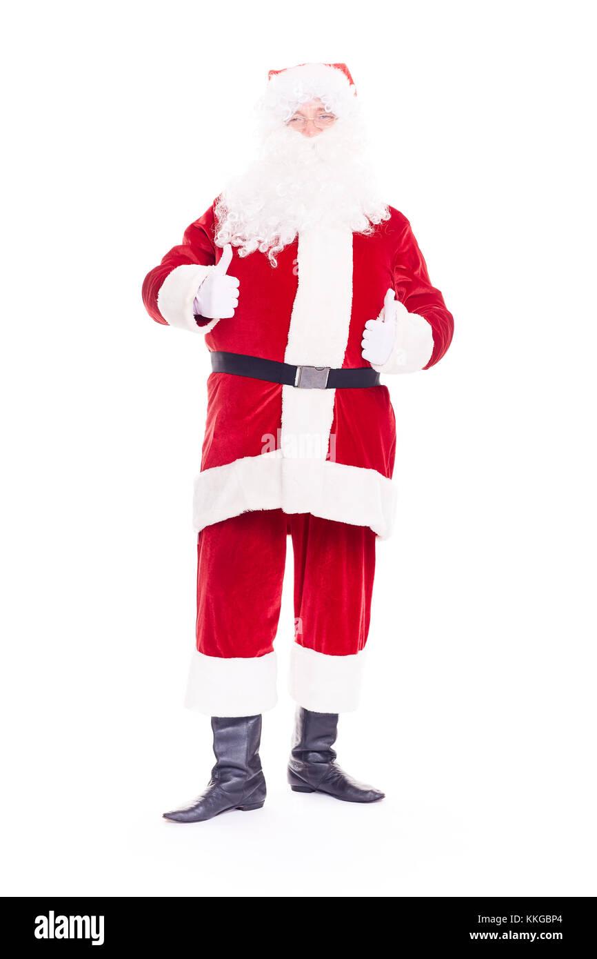 Real Santa Claus Foto de stock