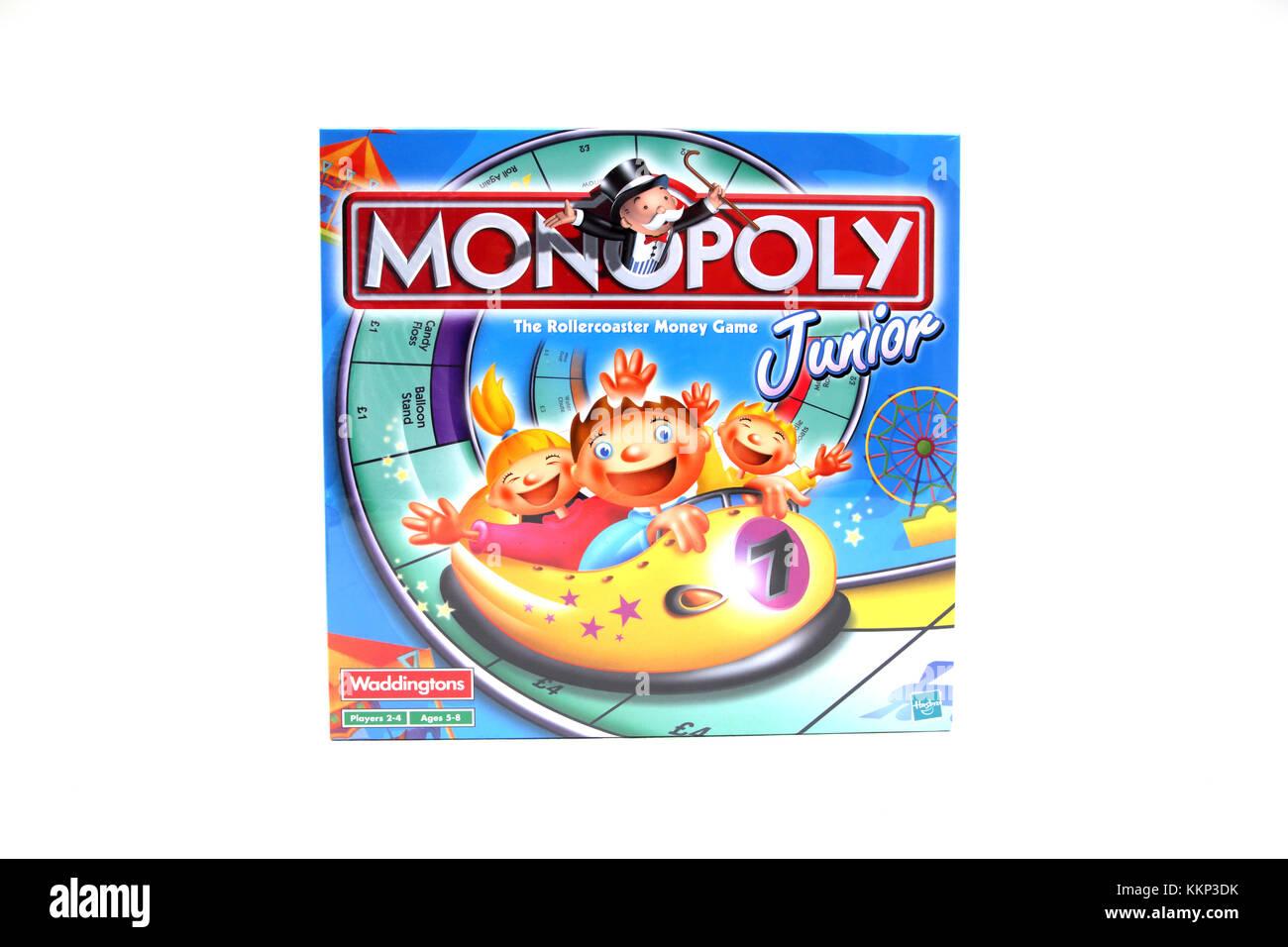 Juego De Mesa Monopoly Junior Rollercoaster Foto Imagen De Stock