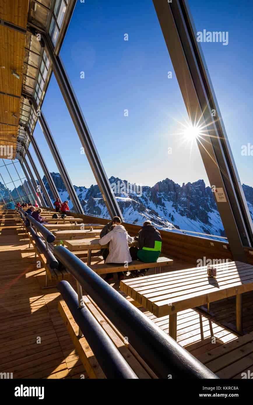 Austria, Tirol Axamer Lizum, alojamiento Villa de los juegos olímpicos de invierno de 1964 y 1976, Haus hoadl Imagen De Stock